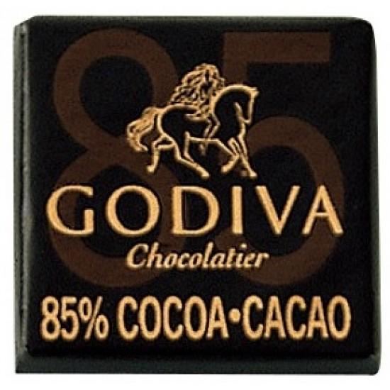 Godiva Dark Chocolate Carre 85%