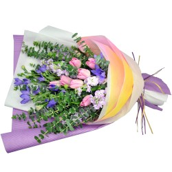 10pcs Holland Tulips Bouquet