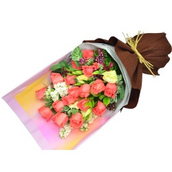 18pcs Roses Bouquet