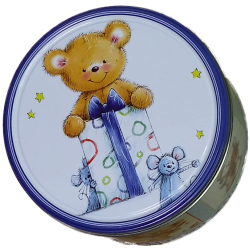 Teddy Bear Chocolate Chip Cookies