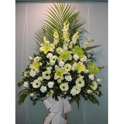 Sympathy Flowers arrangement 10