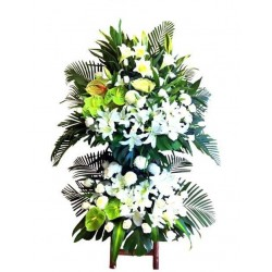 Sympathy Flowers arrangement 2